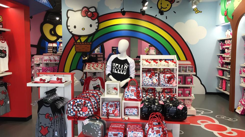 Hello Kitty retail store opens at Universal Orlando