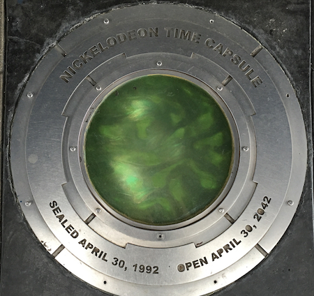 nickelodeon time capsule