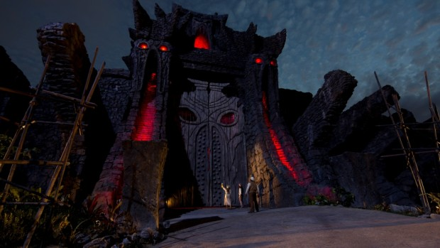 Skull Island Reign of Kong Great Wall Night