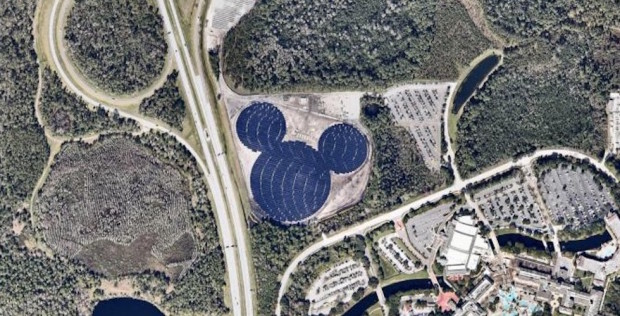 solar hidden mickey mouse
