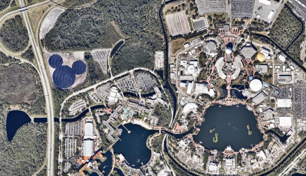 A Look At The Huge New Solar Hidden Mickey