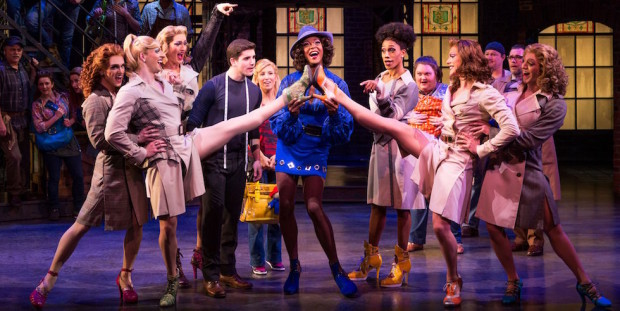 Kinky Boots on stage