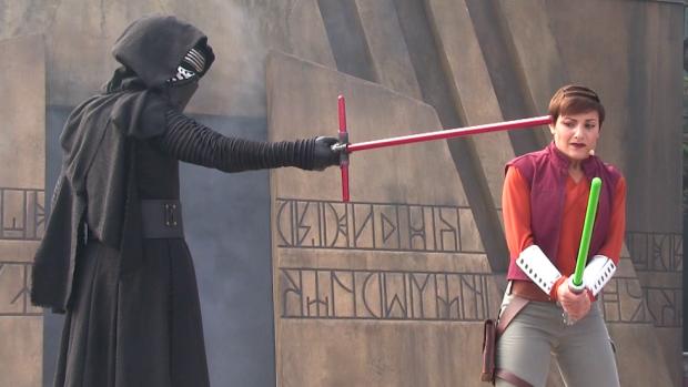 Kylo Ren Force Awakens Star Wars Disney World