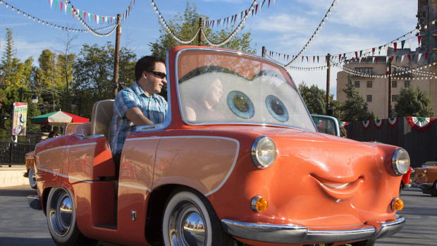Luigi's Rollickin' Roadsters Disney California Adventure