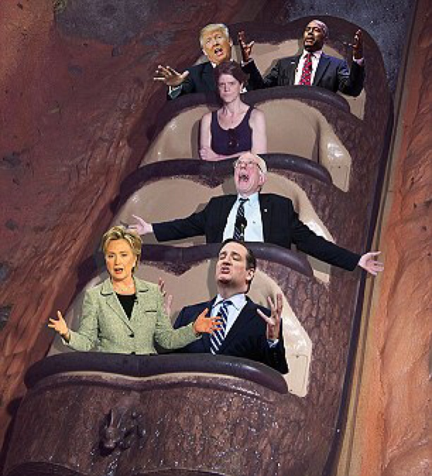 Angry Splash Mountain Lady GOP