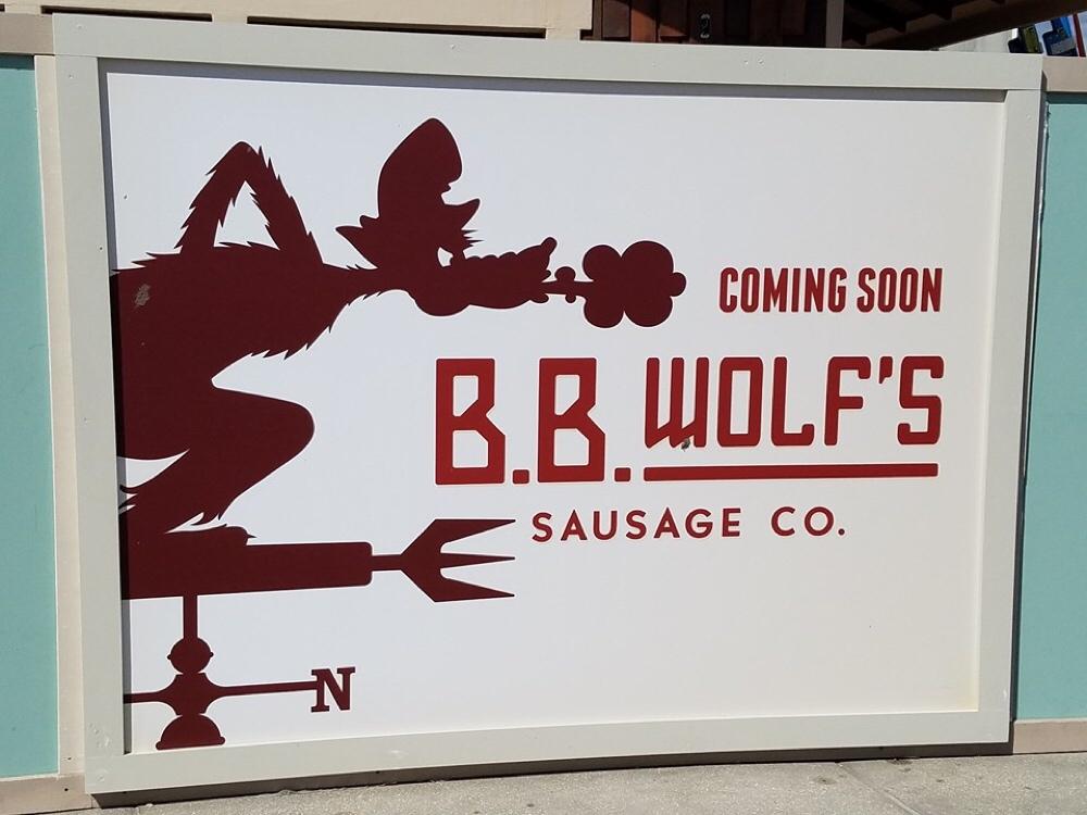 BB Wolf Sausage Co Disney Springs