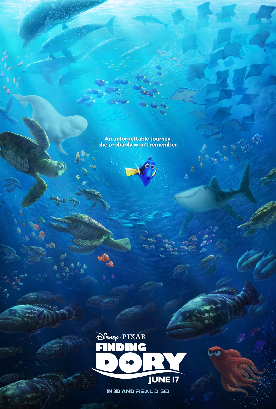 Finding Dory is expected to finish the 4 day holiday weekend with an ...