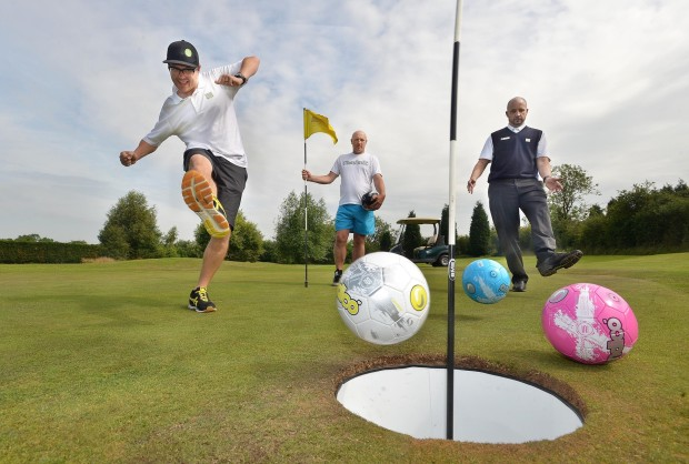 Orlando World Center Marriott is now offering Foot Golf. (Photo by Steve Leath/Express&Star via golf.clickon.co)