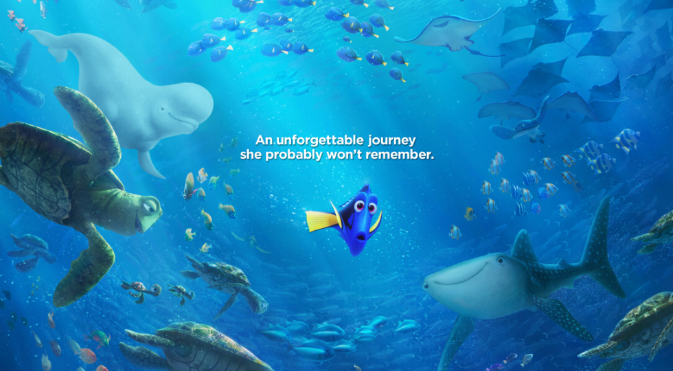 """Finding Dory"" movie poster"