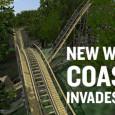 Busch Gardens Williamsburg wooden coaster 2017