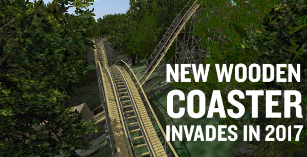 Busch Gardens Williamsburg Unveils Invadr Wooden Coaster For 2017