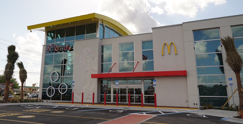 World's Largest Entertainment McDonald's opens in Orlando