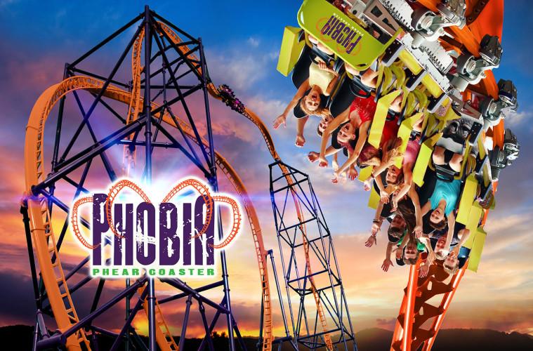 Phobia Phear Coaster
