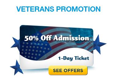 Busch Gardens Tampa military veterans