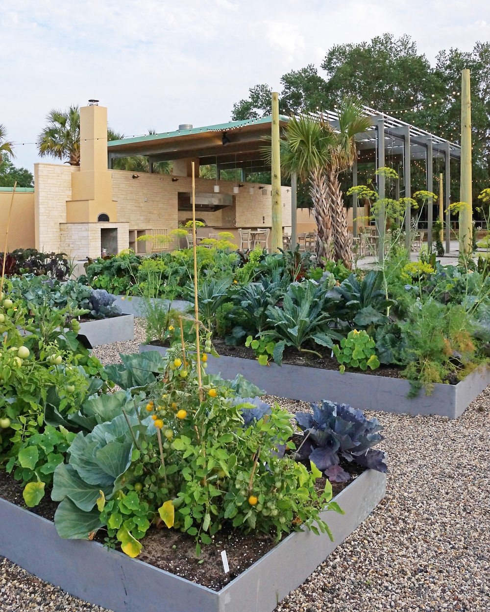 Backyard Kitchen Garden: Bok Tower Gardens Outdoor Kitchen And Edible Garden Open