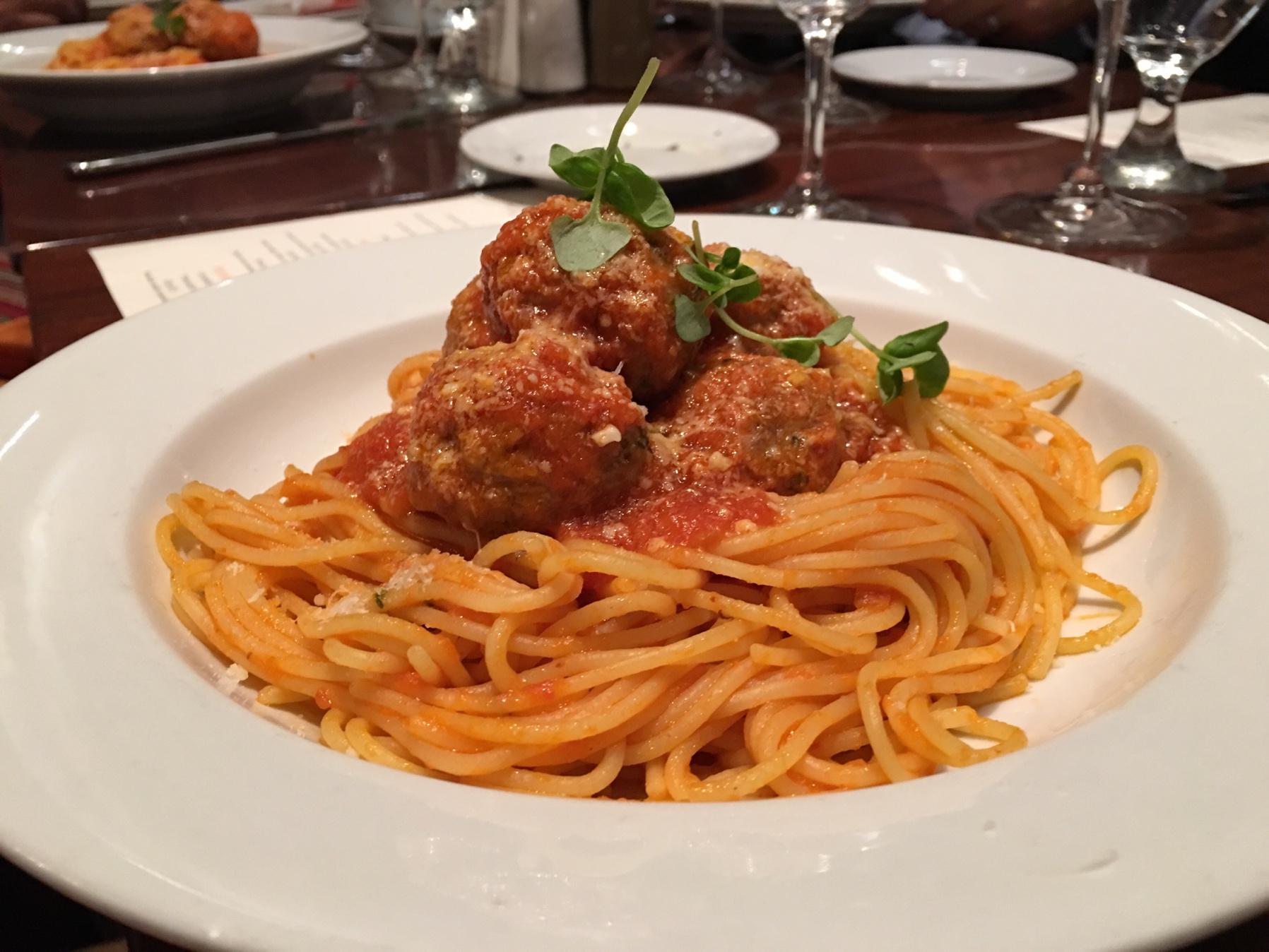 Tutto Italia three course lunch