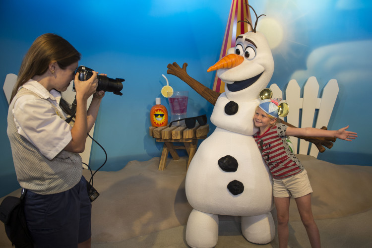 Olaf Celebrity Spotlight