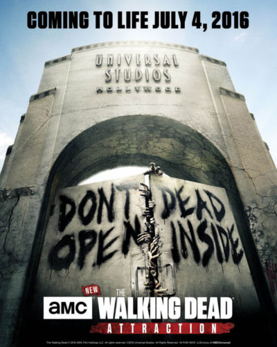 Walking Dead Attraction opens