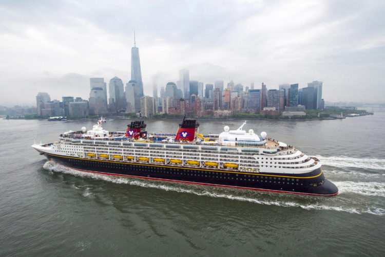2017 Disney Cruise Line New York Galveston California