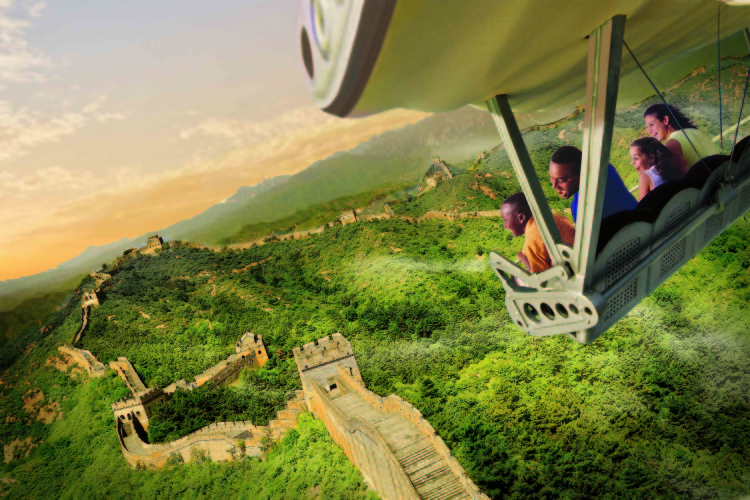 Epcot Soarin' Around the World