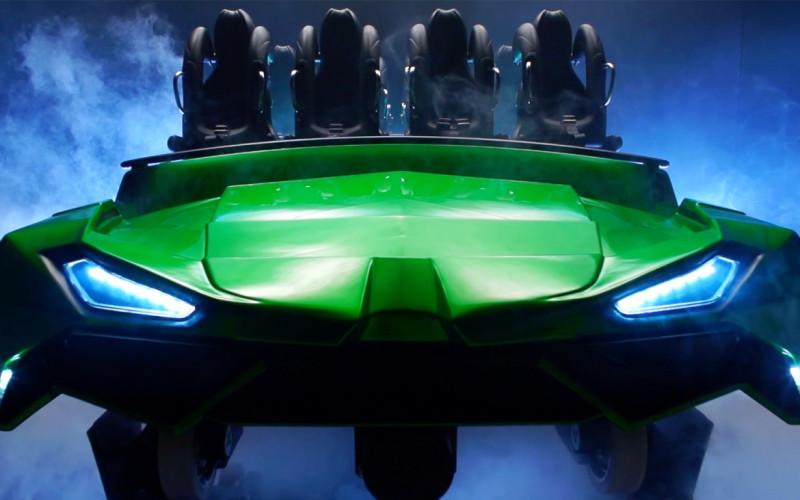 Incredible Hulk Coaster details