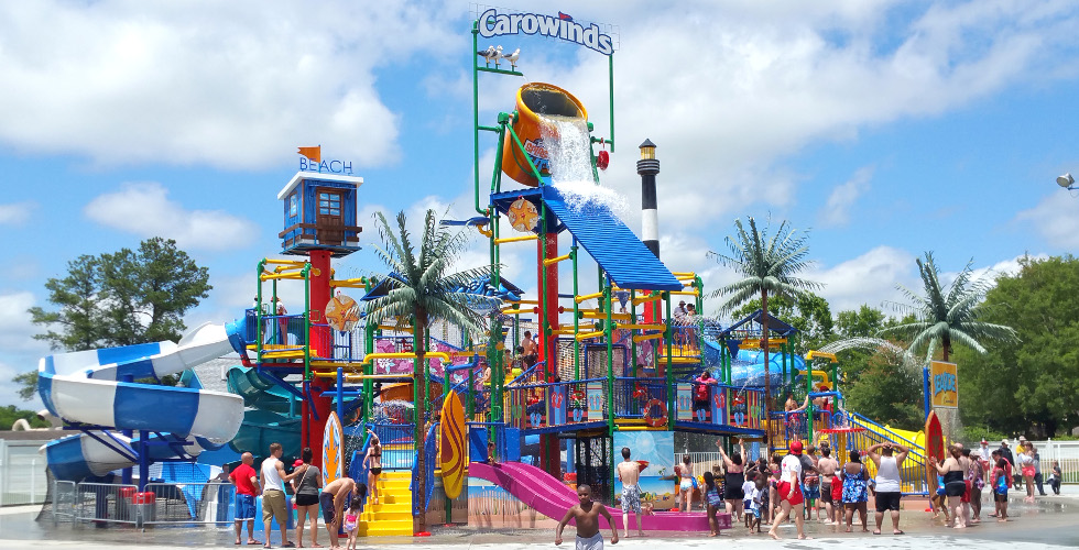 The lure of Carowinds is strong. Cool off at Boomerang Bay, entertain the kids at Planet Snoopy, test your courage on the new Fury , and enjoy live music throughout the season.