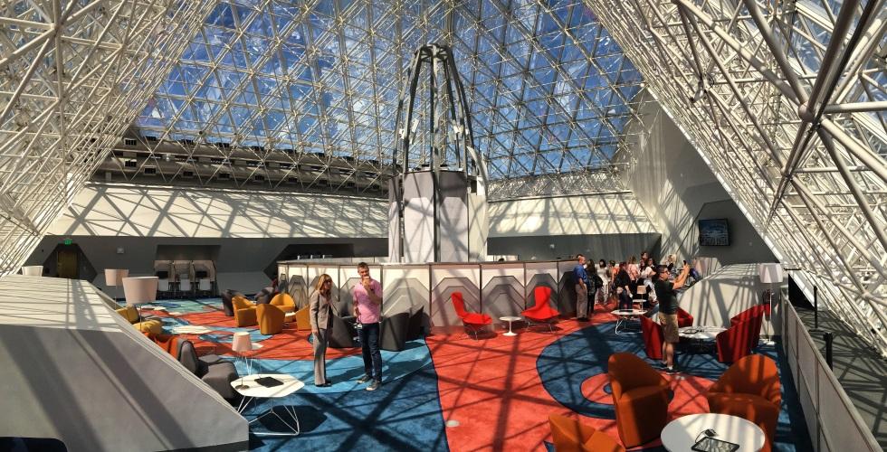 DVC member lounge in Imagination Pavilion