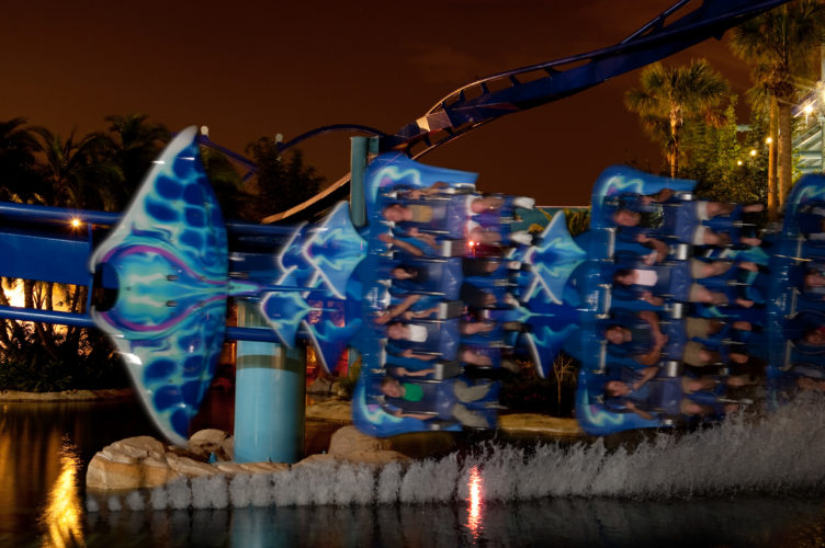 Manta at Night