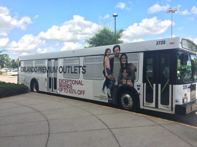 Orlando Preium Outlets free hotel shuttle
