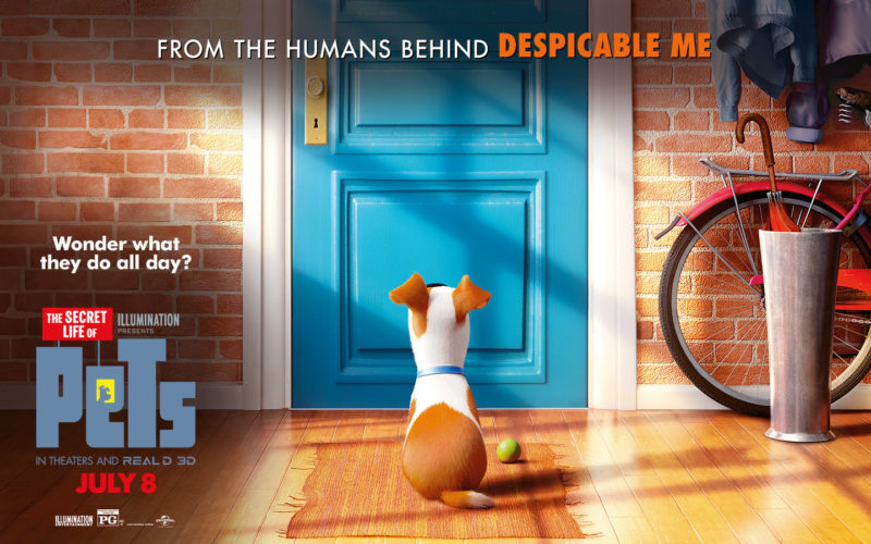 Secret Life of Pets preview experiences