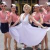 marilyn monroe and dancers at universal studios florida