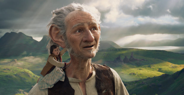 "In Disney's fantasy-adventure ""The BFG"", directed by Steven Spielberg and based on Roald Dahl's classic, a precocious 10-year old named Sophie befriends the BFG, a Big Friendly Giant from Giant Country."
