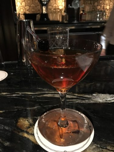 The Magic Hattan cocktail at AbracadaBar.