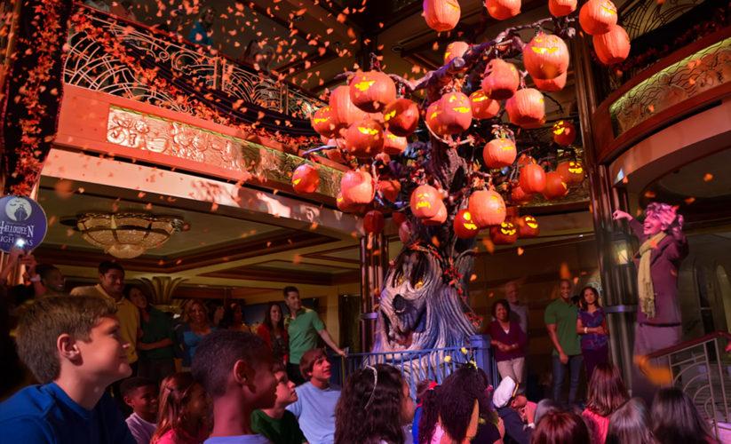 Disney Cruise Line Halloween holiday sailings