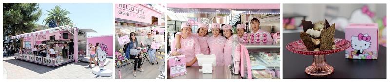 Hello Kitty Cafe Pop-Up Container (PRNewsFoto/Sanrio)