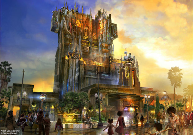 Guardians of the Galaxy Ð Mission: BREAKOUT! Tower of Terror Disney California Adventure