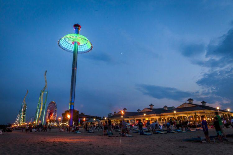 CedarPointNights_Beach