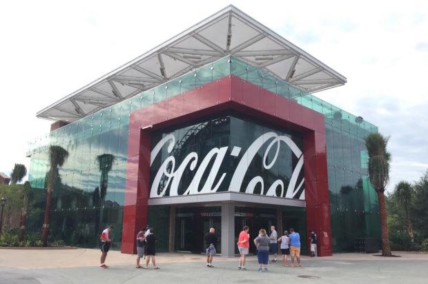 coca-cola store orlando disney springs exterior