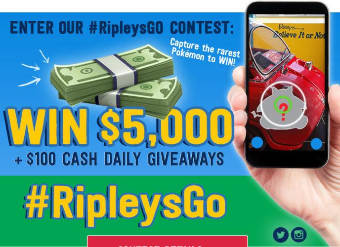 #RipleysGO Pokémon contest