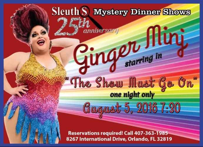 Ginger Minj Sleuths Mystery Dinner