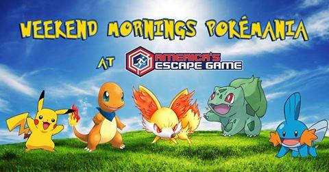America's Escape Game Pokémon hunts