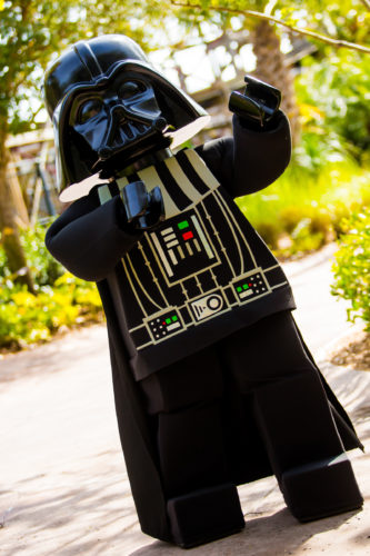 LEGO CLUB WEEKEND FEATURING LEGO STAR WARS MINILAND MODEL DISPLAY AT LEGOLAND FLORIDA RESORT