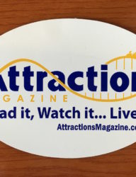 Attractions Magazine Magnet