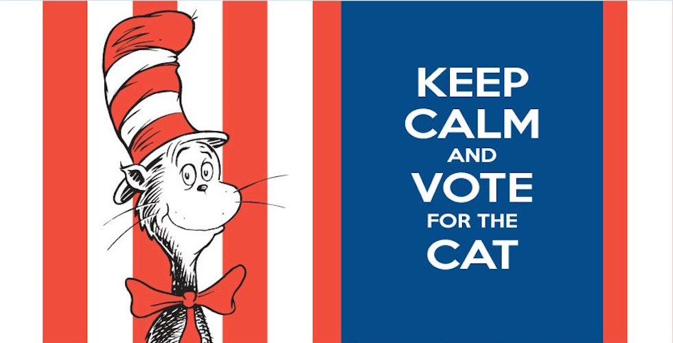Carnival Cruise Line Cat in the Hat presidential campaign
