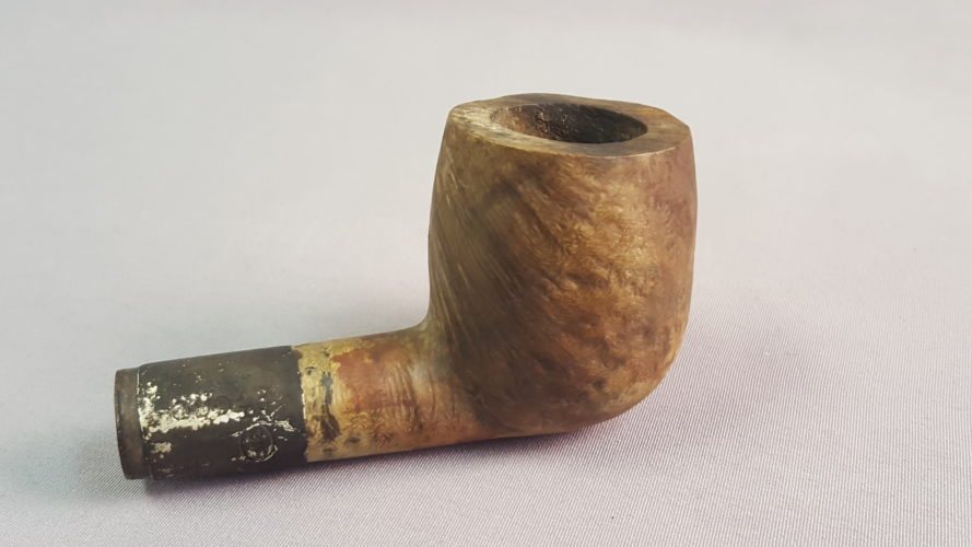 William Murdoch's pipe, part of a special display at Titanic The Artifact Exhibition at Luxor