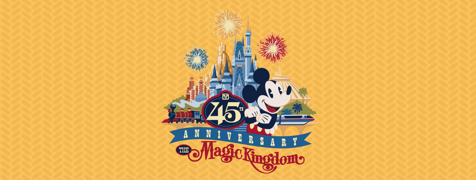 Walt Disney World Celebrates Magic Kingdom 45th Anniversary On October 1