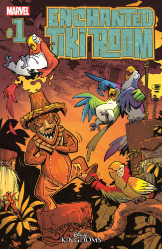 Enchanted Tiki Room comic