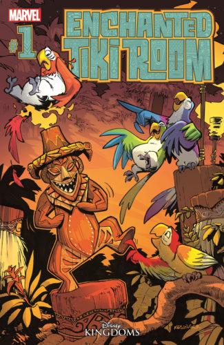 Enchanted Tiki Room comic