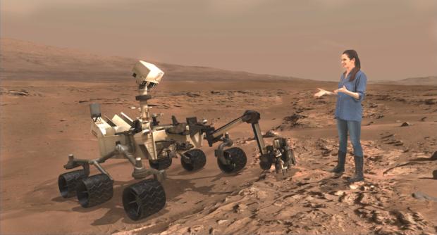 erisa hines and curiosity destination mars
