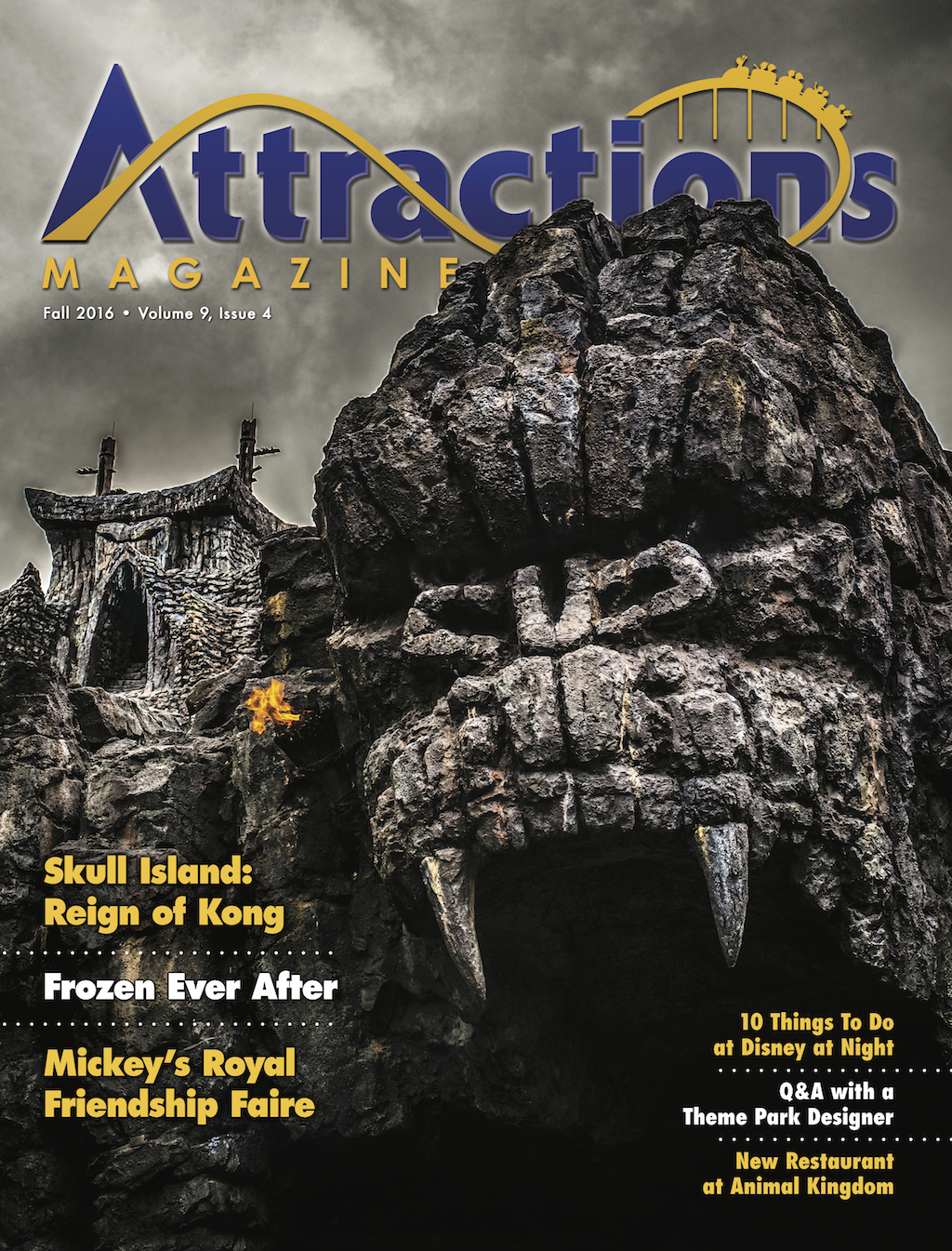 Fall 2016 Cover featuring Skull Island
